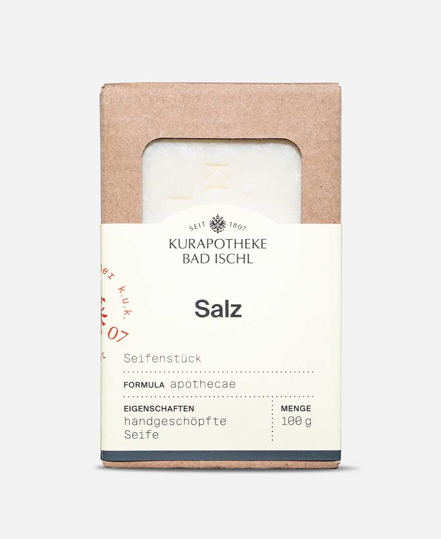 Salz – Seifenstück
